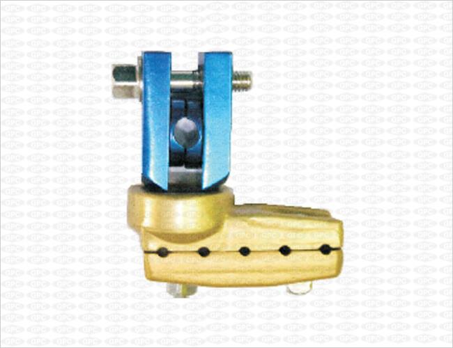 Abrazadera Multiaxis L para Fijación de la Varilla de 8 mm