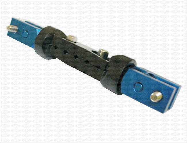 Abrazadera de múltiples ejes I para fijación de barra doble de 8 mm