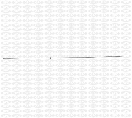 Alambre con Férula (Olive) con Punta tipo Bayoneta - 1.5mm