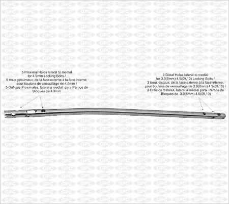 Clavo Tibial de Fijación Multi-ángulo