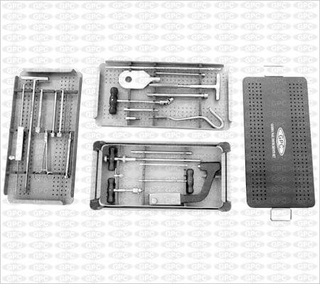 Juego de Instrumentos para Clavos Gamma
