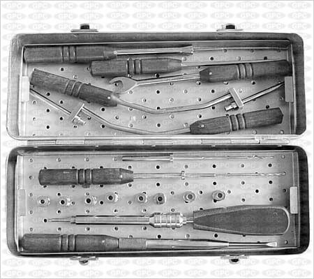 Juego De Instrumentos Para Placa (Z) Anterior Cervical
