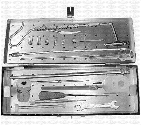 Juego de Instrumentos para Clavos Bloqueados IMSC