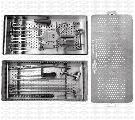 Juego de Instrumentos para Clavos Bloqueados Tibiales.