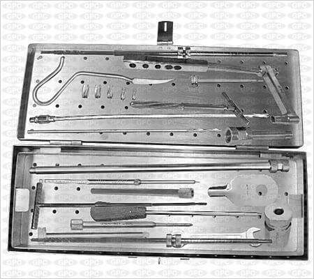 Juego de Instrumentos para Clavos Femorales Proximales