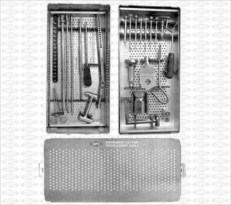 Juego de Instrumentos para los Clavos Bloqueados para el Fémur