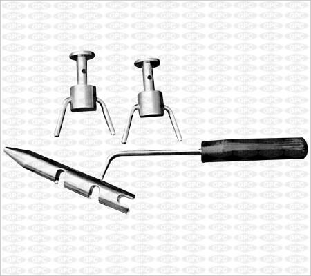 Pinzas para torcer alambre de acero inoxidable con 2 Ganchos