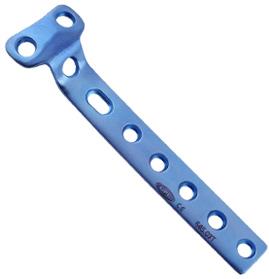 Placa de soporte en ´T´ para tornillos de 4.5mm