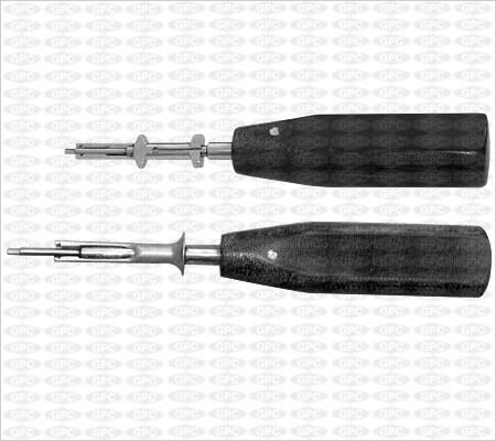 Destornillador con vaina de sujeción de 1,5mm