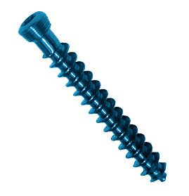 Tornillo fix<em>LOCK</em> esponjoso,3.5 mm- Rosca completa